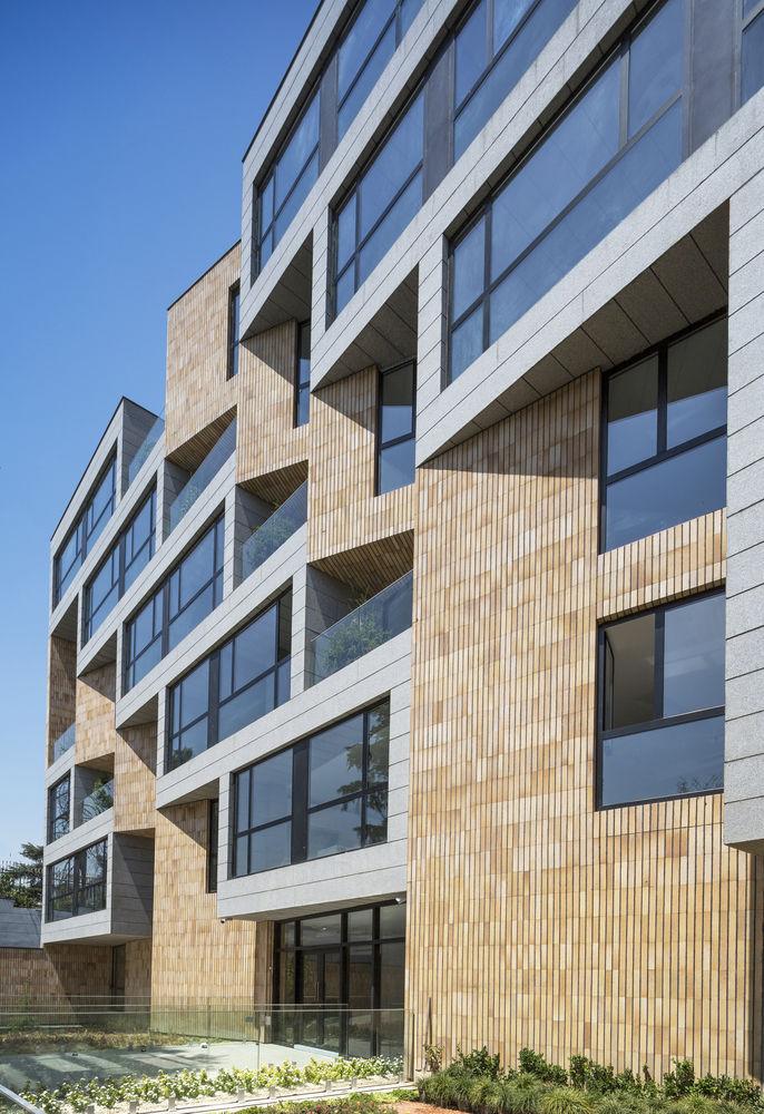 Artfully Shaded Apartments
