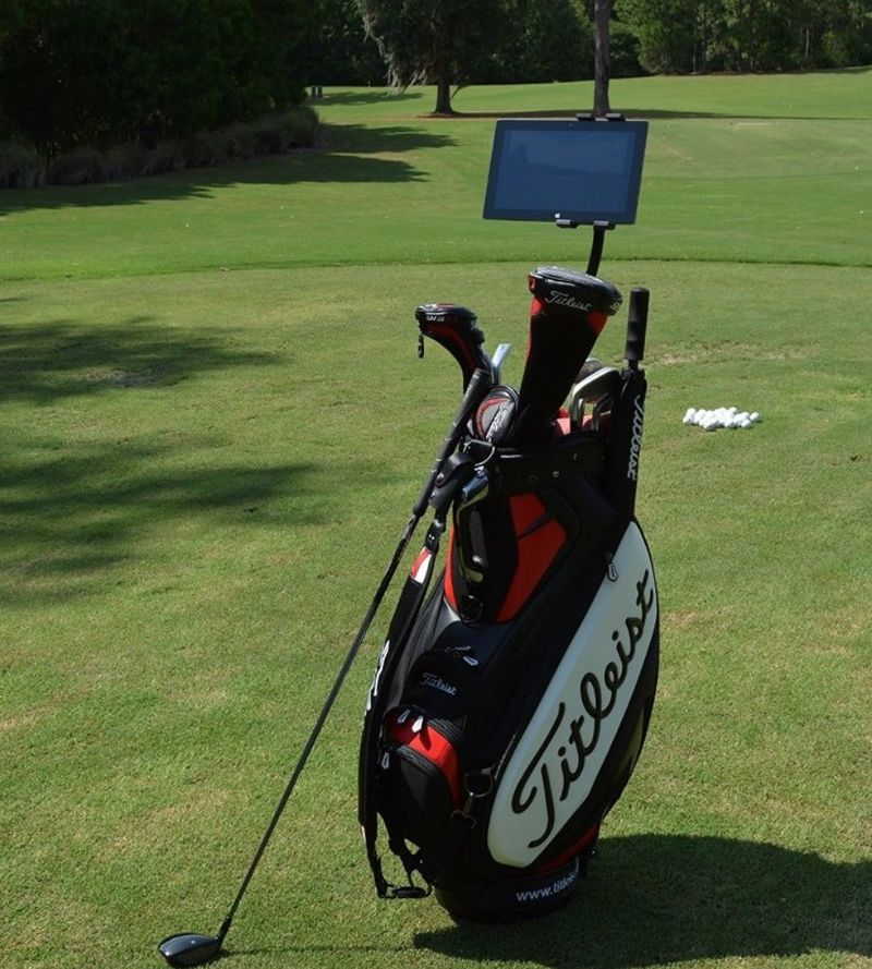 Golf Bag Device Mounts