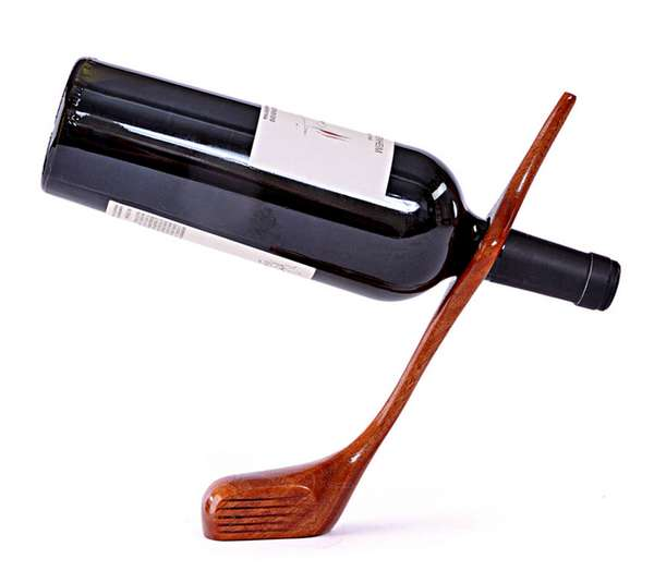 Golf Club Wine Holders