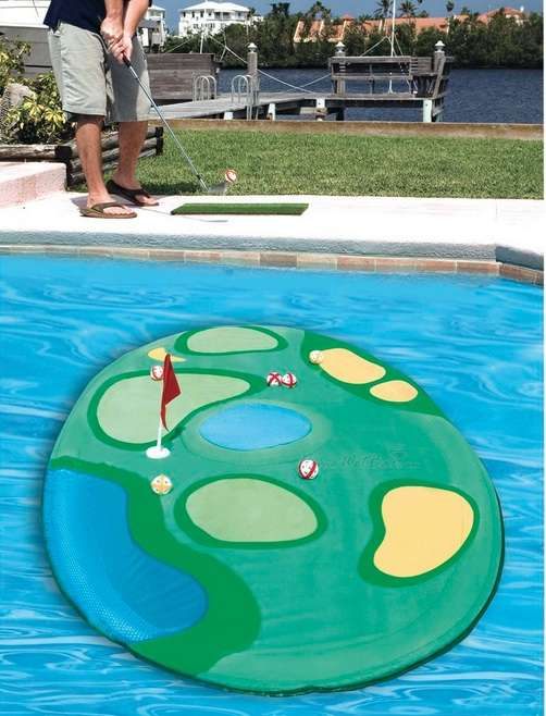Floating Island Golf Games