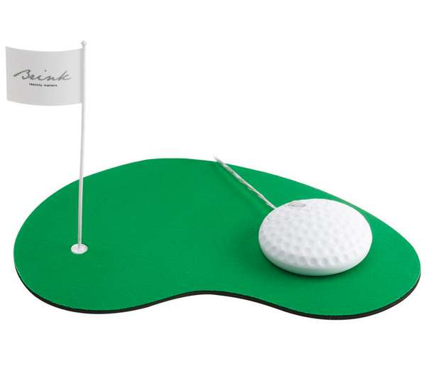 Golf Green Mouse Pads