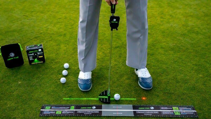 Laser-Powered Golf Accessories