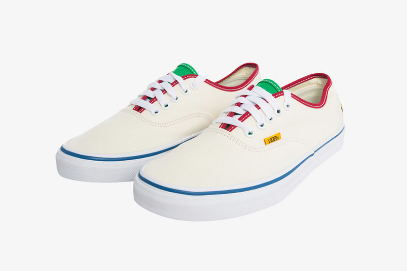 050f342cf5ff91 Creamy Rapper-Designed Sneakers   Golf Wang Vans