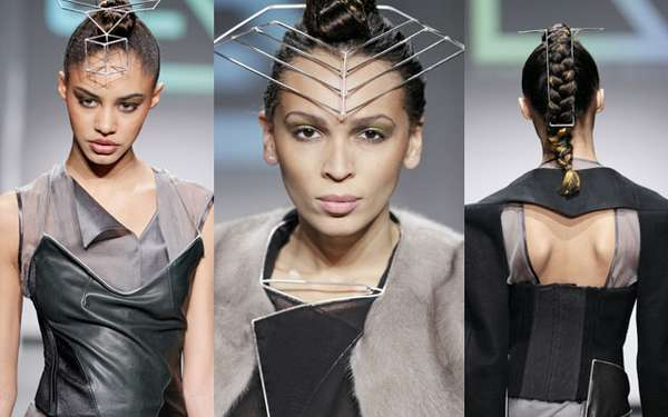 Futuristic Hardware Headpieces