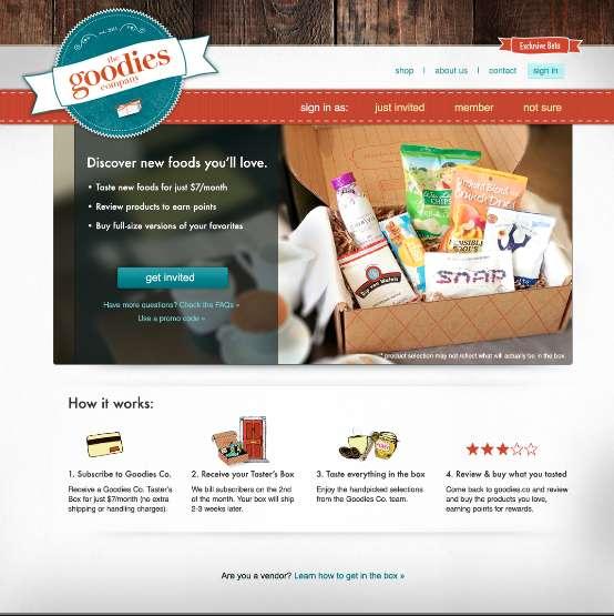 Megastore Food Subscriptions