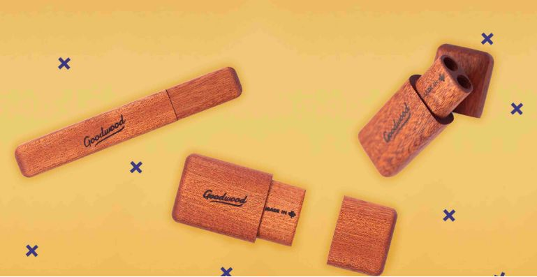 Handcrafted Wooden Cannabis Accessories