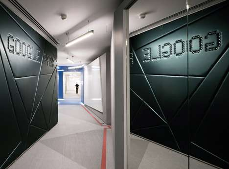 Futuristic Search Engine Offices