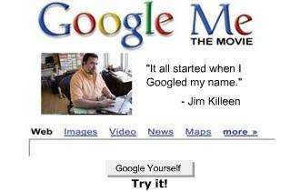 Movies About Googling Yourself