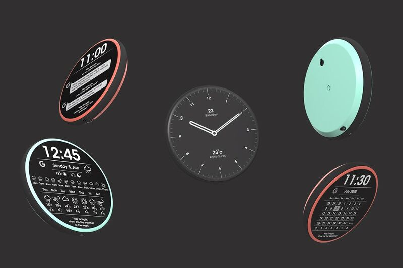 Digital Productivity Wall Clocks