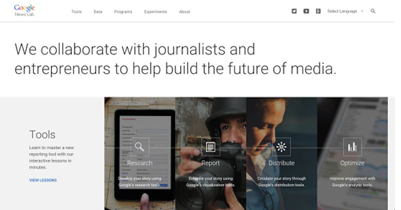 Journalist-Collaborating Search Engines