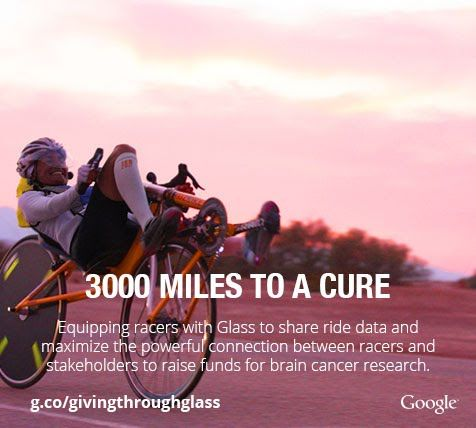 Charitable Journey-Sharing Glasses