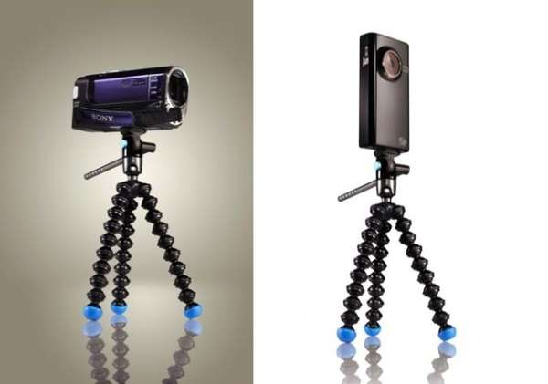 Bendy Videographer Tripods