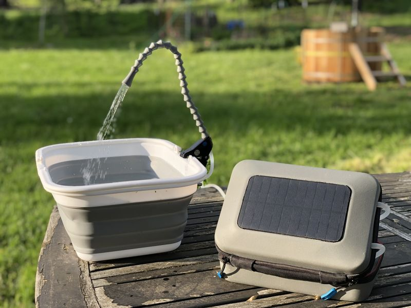 Collapsible Solar-Powered Water Purifiers