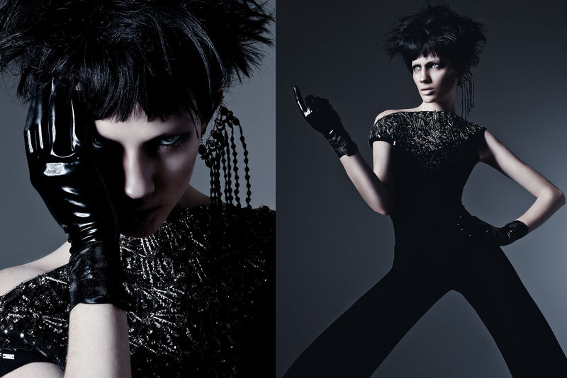 Theatrical Goth Editorials