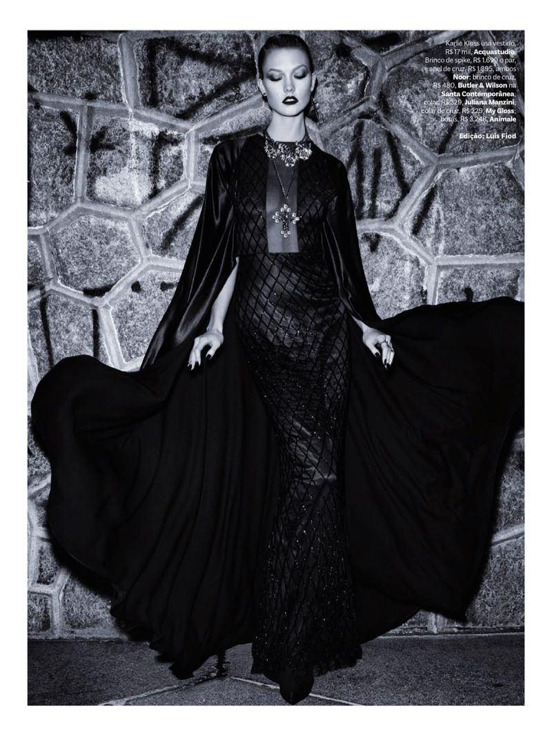 Gothic Glam Editorials