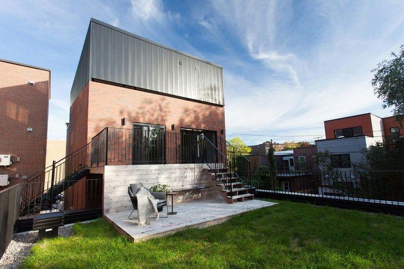 Reinvented Modern Duplexes
