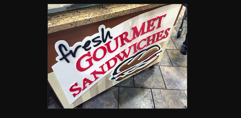 Supermarket Grab-and-Go Sandwiches