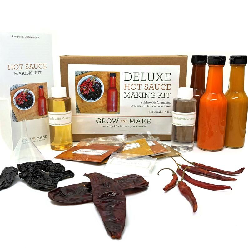 Gourmet Hot Sauce Kits