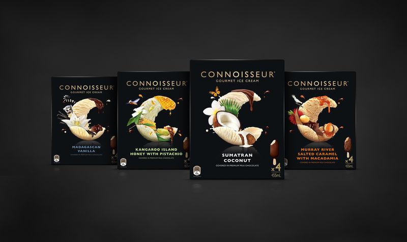 Gourmet Ice Cream Packaging