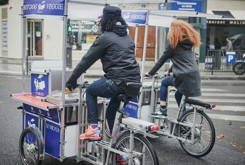 Hotdog-Delivering Bikes
