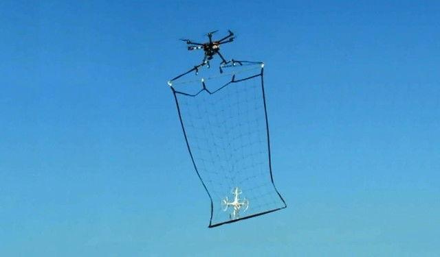UAV-Catching Drones