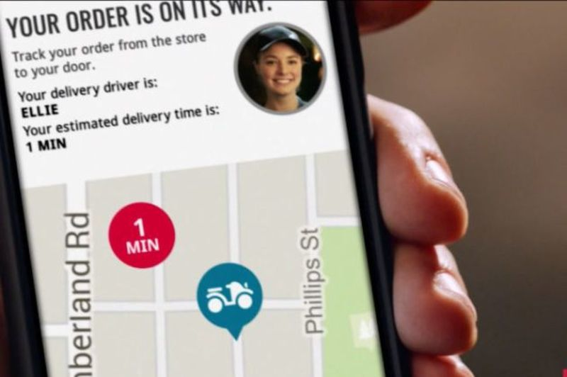 GPS Pizza Delivery Tracking