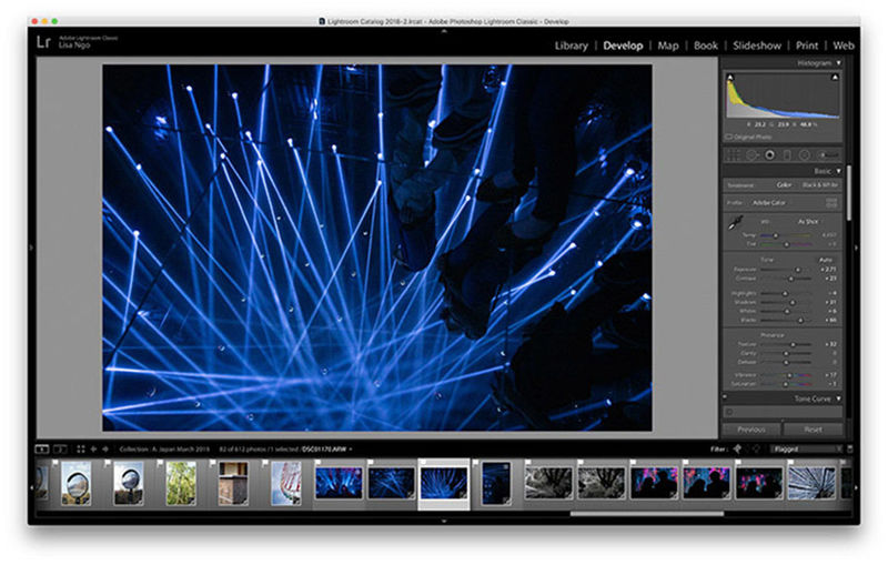 Responsive Photo Editing Tools