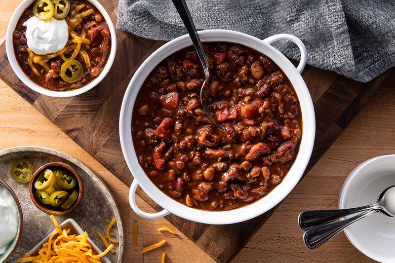 Hearty Grab-and-Go Chilis
