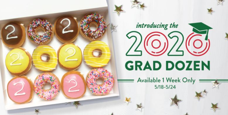 Graduation-Themed Donut Boxes