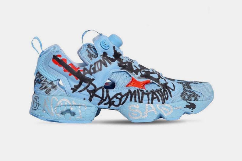 Graffiti-Emblazoned Sneakers