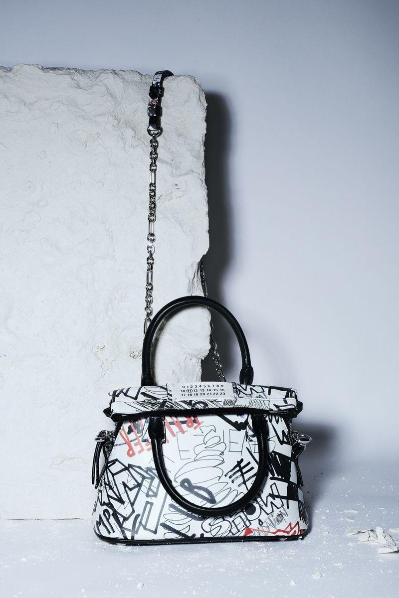 Graffiti-Adorned Luxe Accessories