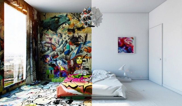 Two-Faced Room Decor