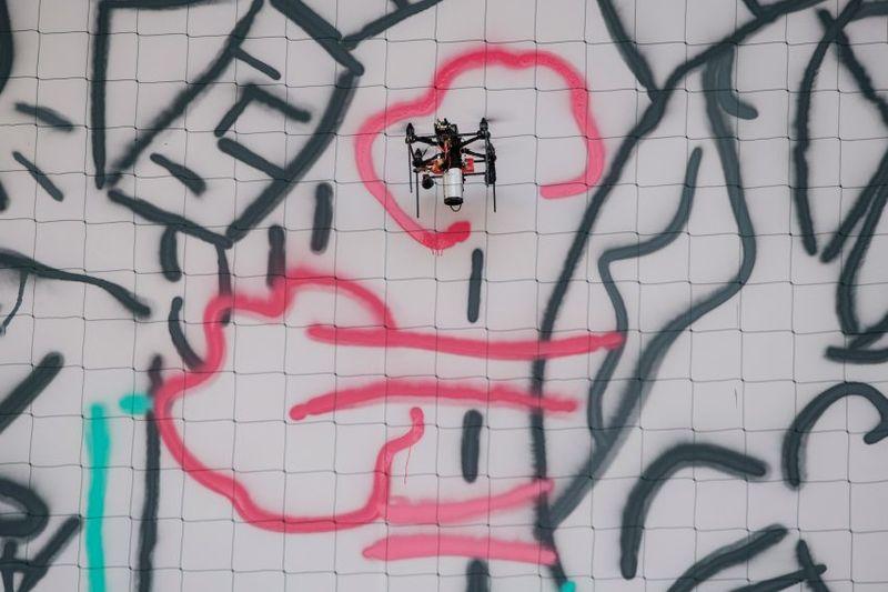 Crowdsourced Graffiti Walls