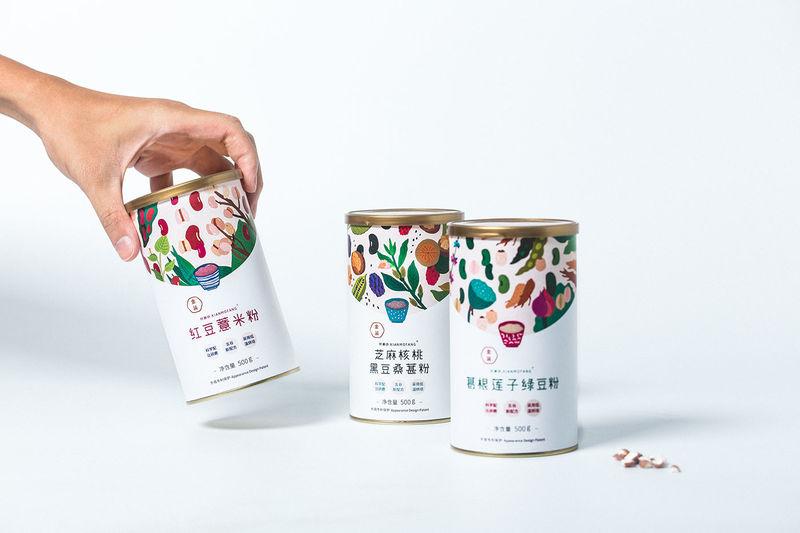 Illustrated Ingredient Branding