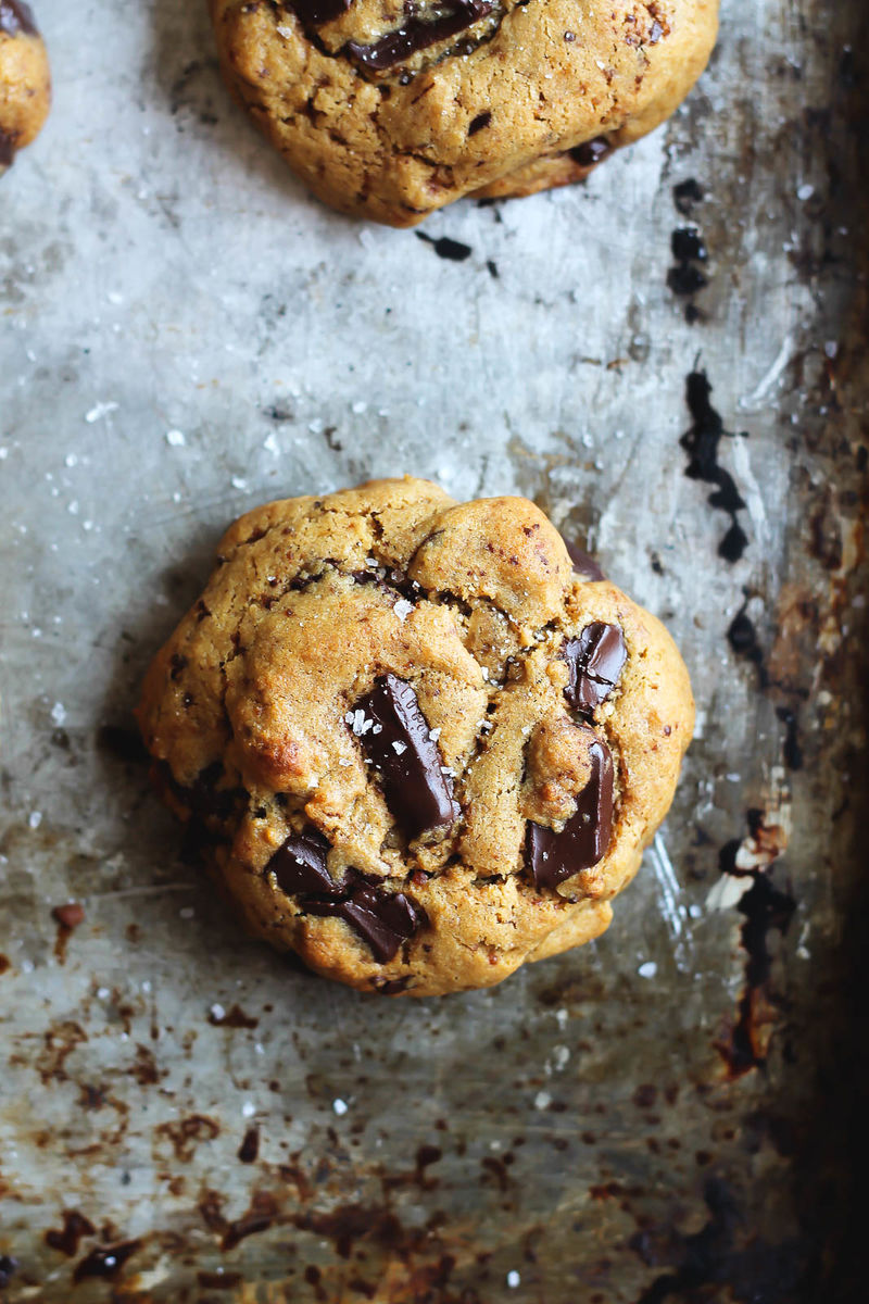 Chocolate Chickpea Cookies