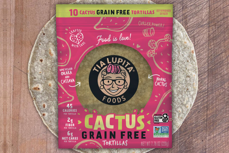 Upcycled Cactus Tortillas