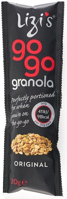 Portable Granola Packets