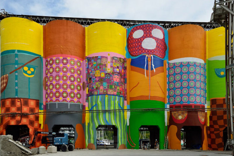 Giant Silo Artwork