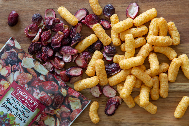 Freeze-Dried Grape Slices