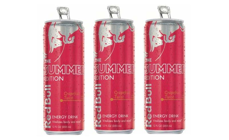 Special Edition Energy Drinks