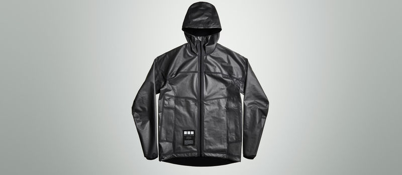 Futuristic Material-Made Jackets
