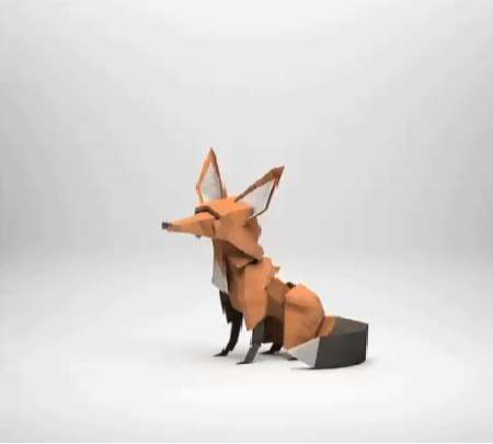 3D Papercraft Animations