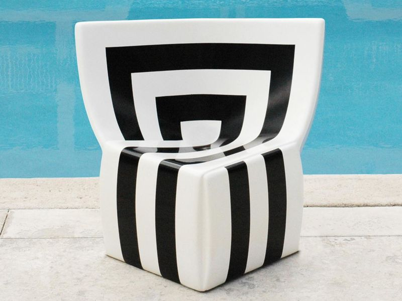 Striped Graphic Seating
