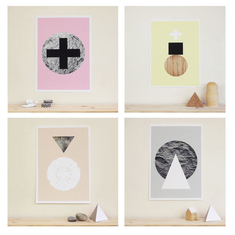 Modern Abstract Posters