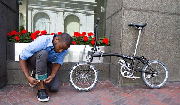 Sleek Cyclist Menswear