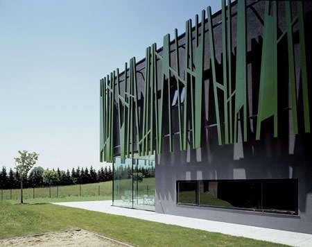 Grass Buildings