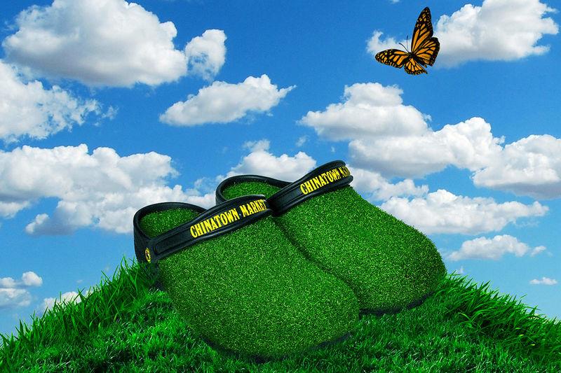 Comfortable Grass Footwear