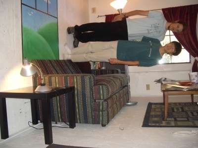 Gravity Defying Rooms