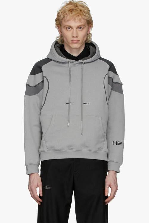 Muted Gray Minimal Sweaters