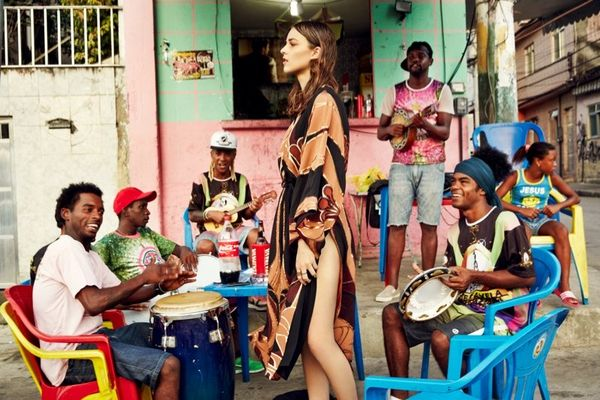 Chromatic Brazilian Fashion Editorials